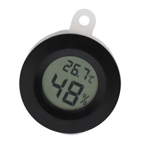 Homyl Digital Thermometer/Hygrometer Temperatur Luftfeuchtigkeit Messgerät für Terrarium