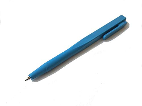 Detektierbarer Stift, Kugelschreiber, feststehende Mine, Tinte: blau, detectable pen, 50 Stück