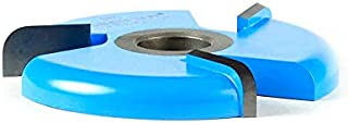 Amana Tool - 980 Carbide Tipped 3-Wing Raised Panel Back Cutter with Ball Bearing Rub Coll