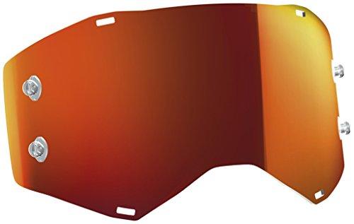 Scott Goggle Ersatzscheibe für Prospect/Fury orange Chrom AFC Works