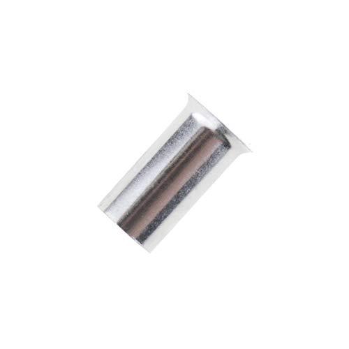 100x Aderendhülsen unisoliert 25,0mm² / 18mm blank