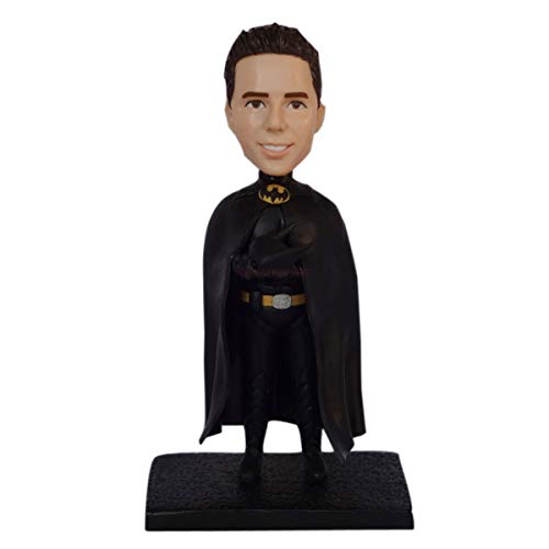 Polymer clay figure cake toppers customized 3d figurine maker sculpture custom batman bobblehead dolls figurines clay miniatures