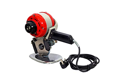 DE TECH Cut Man DRC-110mm Electric Cloth Textile Cutter...