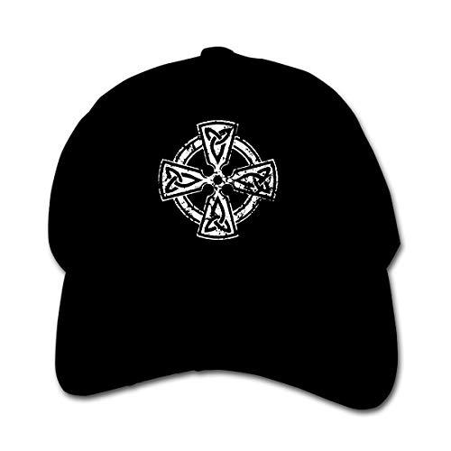Infant Toddler Baby Celtic Cross Knot Irish Baseball Cap Adjustable Trucker Cap Sun Visor Hat Black