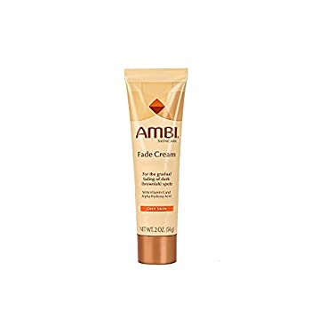Ambi Skincare Fade Cream for Oily Skin | Dark Spot Remover for Face and Body | Treats Skin Blemishes & Discoloration | Improves Hyperpigmentation | 2 Oz  56 g  - Packaging May Vary