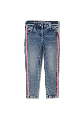 s.Oliver Mädchen Slim Fit: Skinny Leg-Jeans mit Tape Blue 128.REG