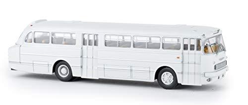 Brekina Ikarus 66 Bus lichtgrau, TD, H0 Auto Modell 1:87, 59556