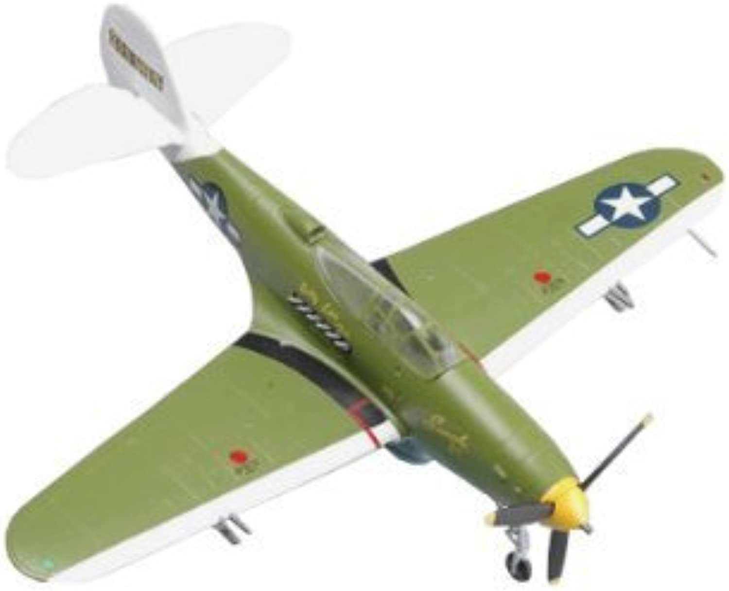 Easy Model P39Q William Shomo 71st trs 82nd TRG, 1944 Airplane Model Building Kit by Easy Model