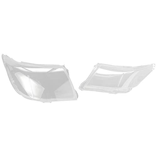 Headlight Lens Cover Auto Clear Koplamp Lens Shell 2 Stks Autoverboven rechts Koplamp Clear Lens Cover Lampenkap Shell…
