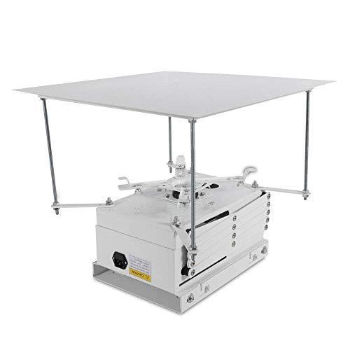 WYZXR Soporte para proyector con Elevador eléctrico motorizado, Soporte de Techo para...