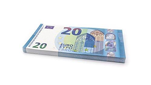 Cashbricks 75 x €20 Euro (Neu 2015) Spielgeld Scheine - vergrößert - 125% Größe