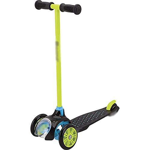 Patinete Patinete De Acrobacia Bicicleta De Equilibrio Especial para Niño, Patinete del Parque De La Muchacha, Scooter Profesional para Jugar Al Aire Libre (Color : Green, Size : 57 * 37 * 67cm)