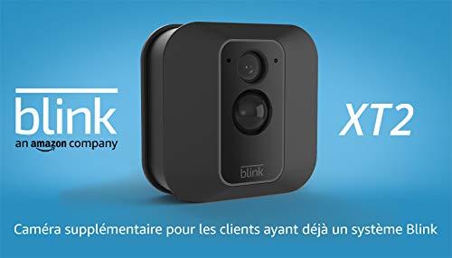 Nouvelle Blink XT2 | Caméra de sécurité connectée, Intérieur/extérieur, Stockage dans le...
