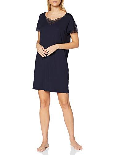 CALIDA Damen Lace Dreams Nachthemd, Dark Lapis Blue, M