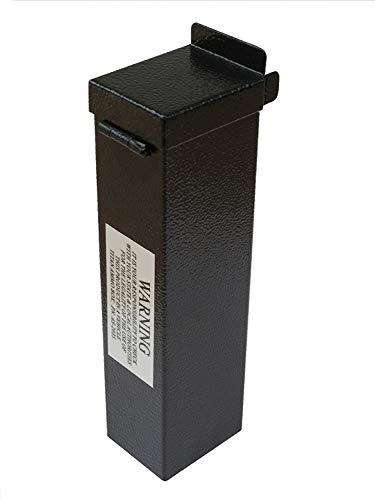 "Titan Ammo Box - Made Exclusively to fit The Titan Pistol Vault Gun Safe!, Black, L 8"" x W 6"" x H 1 ¾"""