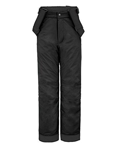 maier sports Kinder Skihose Maxi slim, black, 152, 300003