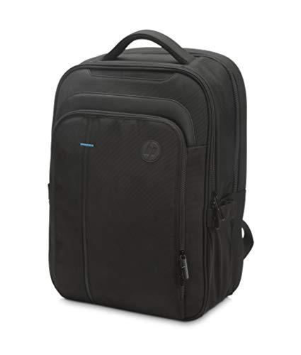 """HP SMB - Mochila para portátiles hasta 15.6"""" (Gran cantidad de Bolsillos, Asas duraderas, Acceso fácil y Seguro) Negro"""
