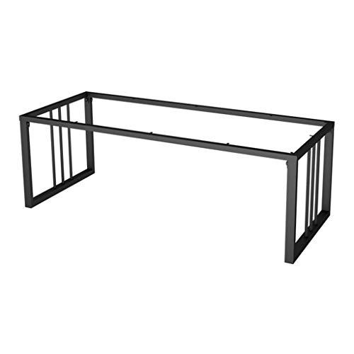 ZXL Moderne minimalistische zwarte eettafel voet hardware/elektrostatische verf, tafel steun been meubels metalen fittingen, geschikt voor kantoor vergadering tafel voet