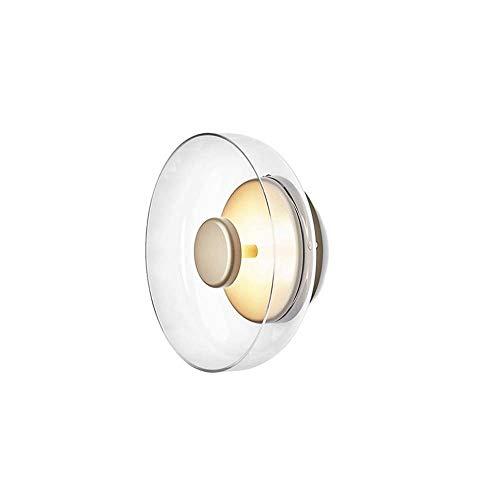 Raxinbang Lampada Da Parete Lampada Da Pranzo In Vetro Nordico Semplice Lampada Da Parete In Rame For Soggiorno Lampada Da Parete In Camera Modello Lampada Da Parete In Rame 90 * 230 * 230mm luci da