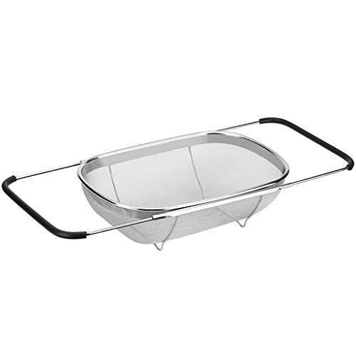 YZ- Bath Shelf Retráctil desagüe Estante Fregadero de