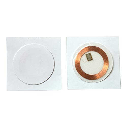 125KHZ EM4100 RFID Soft Paper Sticker Dia 30mm alleen-lezen (pak van 10)