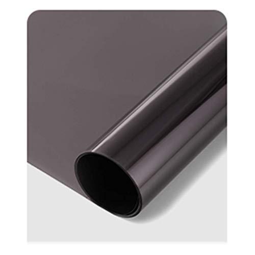 ZXL raamfolie isolatiefolie raam balkon slaapkamer huis zonnecrème zonwering glas sticker verduisterend papier solare warmte-isolatie, zonnecrème, schaduwratio: 80%, (groot
