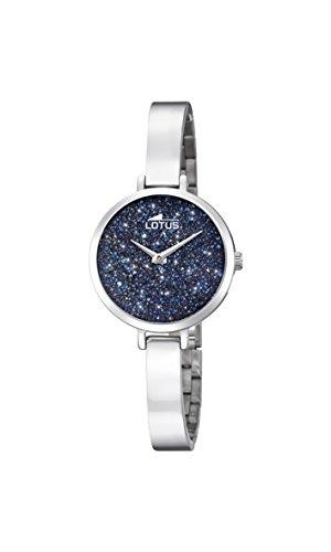 Lotus Watches Reloj Análogo clásico para Mujer de Cuarzo con Correa en Acero Inoxidable 18561/3
