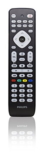 Philips Telecomando Universale, 8 in 1, Nero
