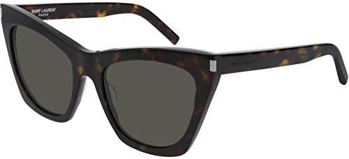 Saint Laurent Gafas de Sol KATE SL 214 DARK HAVANA/GREY mujer