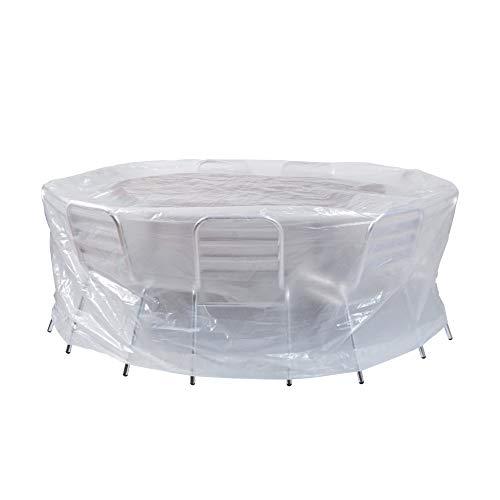 Ribimex F10Copertura per tavoli da Esterni Rotonda diam 200x80 cm
