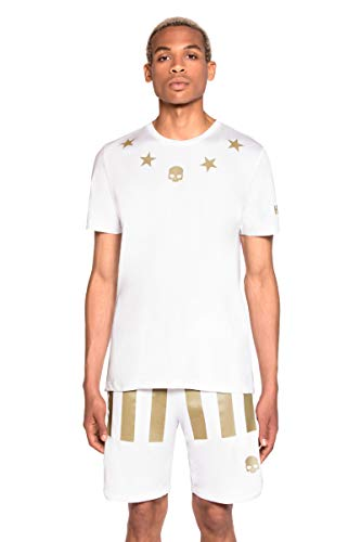 HYDROGEN US Open Stars T-Shirt Men White
