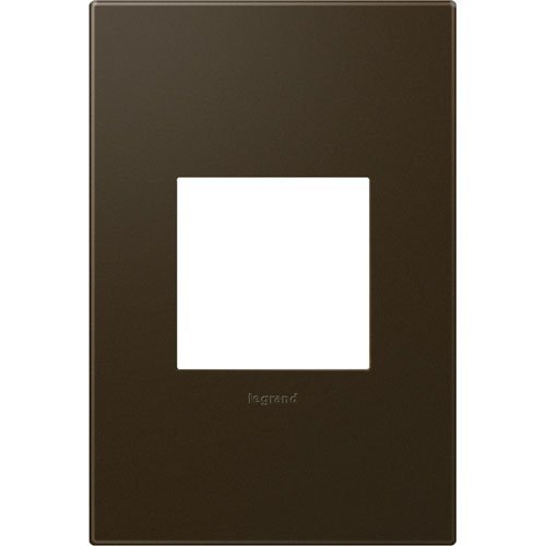 1G BRZ Wall Plate by LEGRAND ADORNE