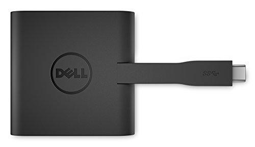 Dell ノートPC用端子拡張アダプタ USB3.0 (TypeC)接続 (HDMI/VGA/LAN/USB3.0) DA200