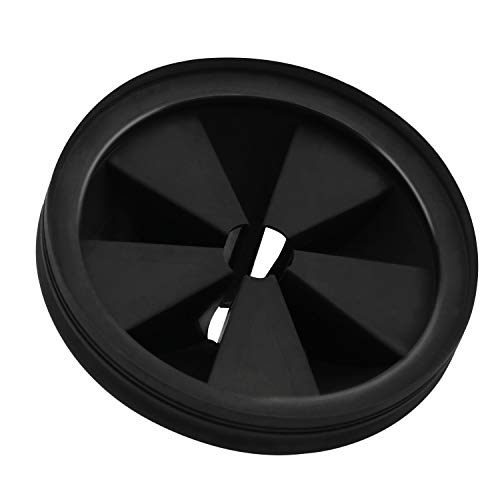 Garbage Disposal Splash Guard Collar Sink Baffle Food Waste Disposer Parts Accessories 3 3/8 Inch Multifunction Drain Plugs for Garbage Disposals by CLEESINK