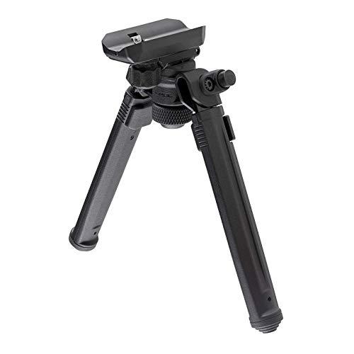 Magpul Rifle Bipod Gun Rest for Hunting and Shooting, Sling Stud QD, Black