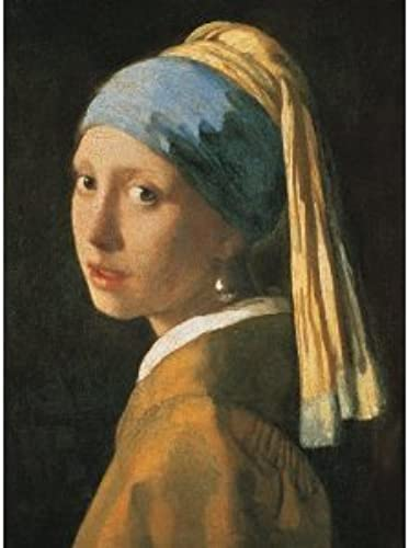 Girl with a Pearl Earring - Vermeer - 1000 Piece Puzzle by Peony Press