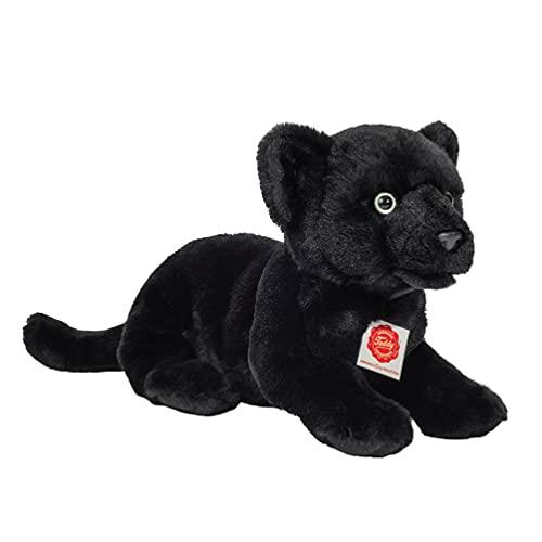 Teddy Hermann 90475 Panther Baby liegend 30 cm, Kuscheltier, Plüschtier