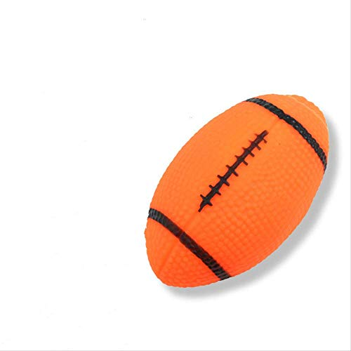 Pet Vocal Toys Vinyl Vocal Rugby Molar Schaukel Training Hundespielzeug Ball Dog Vent Toy