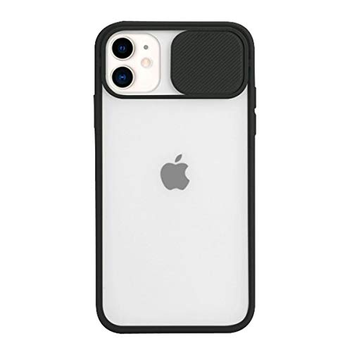 AllRing Custodia Protettiva per Obiettivo della Fotocamera per iPhone 11 PRO Max 8 7 6 6s Plus XR XsMax X XS SE 2020 Colori Candy Soft Cover Posteriore Regalo (for iPhone XR,Nero)