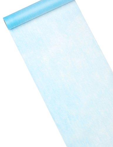 Inspirarte Deco - Camino de mesa en tela no tejida - Azul claro