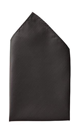 Fabio Farini - Cravates, nœuds papillons et mouchoirs attrayants et élégants pour la robe à cravate noire code noir mouchoir noir mat