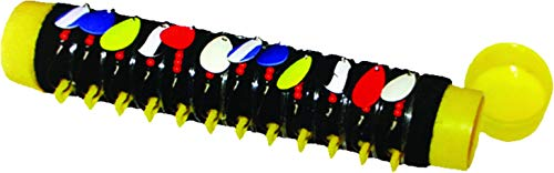 Inhaler Tackle Tamer - 12 Snell Holder -Black and Yellow
