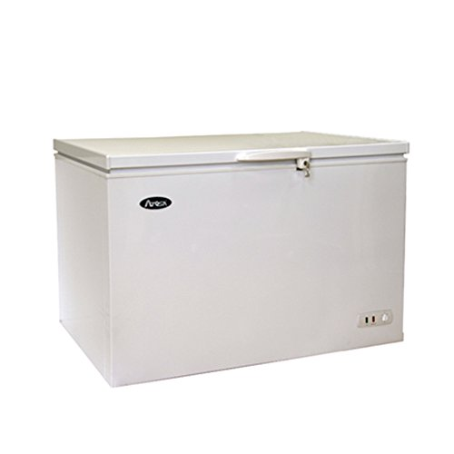 Atosa MWF9010 Solid Top Chest Freezer 10 Cubic Feet
