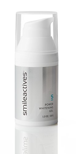 Smileactives Power Whitening Gel, Easy to use Tooth Whitener Gel for Whiter Teeth and Brighter Smile 1 Ounce