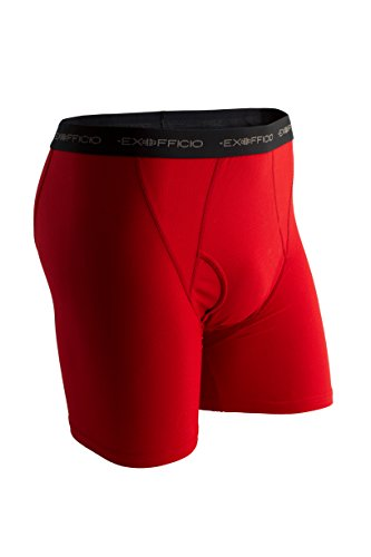 ExOfficio Men's Boxer Brief, Stop, X-Large