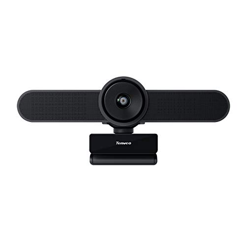 Tenveo VA200 3 in 1 Webcam mit Mikrofon 1080P Full HD 124 Grad Weitwinkel Kamera fur SkypeZoom Videokonferenzen und YouTubeTwitchOBS Live Streaming