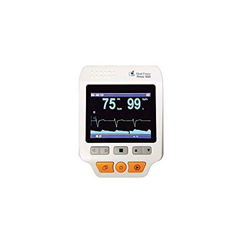 Heal Force Prince 180-D Handheld Portable ECG Monitor, Software...