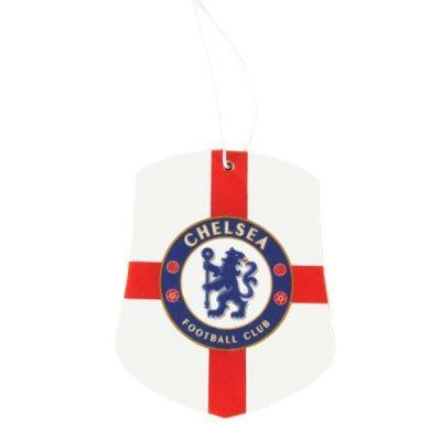 Oficial del Chelsea FC Ambientador para coche St George - Un regalo ideal/para ocasiones especiales, hijos, maridos, papás, del Padre Navidad, cumpleaños, carcasa, para San Valentín, o como espontáneo para los amantes del fútbol