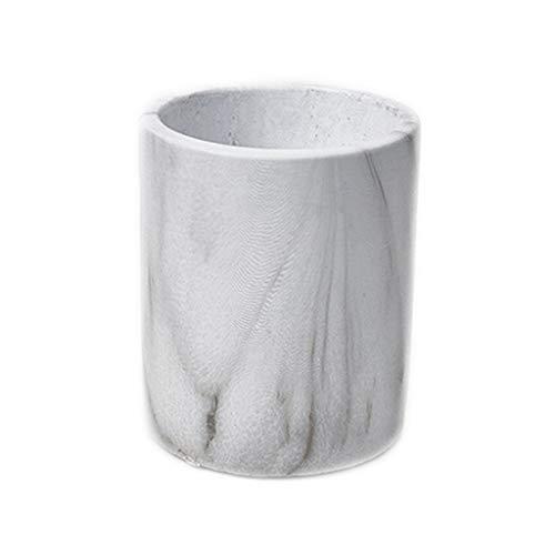 WYH Persoonlijkheid Bloem Pot Gemarmerd Cement Vierkant Ronde Bloempot Kleine Pot Kantoor Balkon Tafel Decoratie Glad