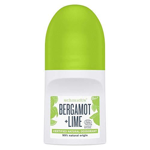 Schmidt´s Roll-On Bergamot & Lime, 50 ml